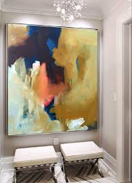 Hand Painted Large Original Painting, Abstract Art, Acrylic Painting on  Canvas, XL large Canvas Art.