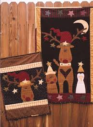 Meme's Quilts-Primitive Doll, Quilt and Stitchery Patterns & Reindeer Games Adamdwight.com