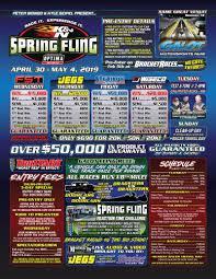spring fling galot bracket race