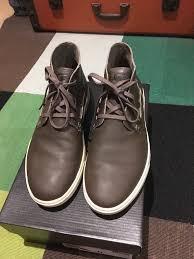 mens khaki leather ugg boots uk size 10