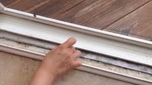 patio door track cover luxury how to clean sliding door or window tracks