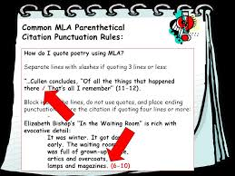 mla poem citation parenthetical mla citation of textual evidence ppt video online