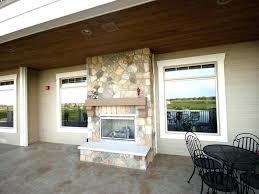 indoor outdoor gas fireplace indoor outdoor natural gas fireplace