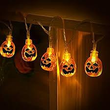 halloween lighting. halloween string lights yunlights 13ft 30 led waterproof 3d pumpkin with 8 modes lighting l
