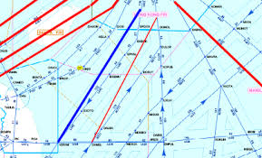 Ats Route Chart International Civil Aviation Organization Asia And Pacific