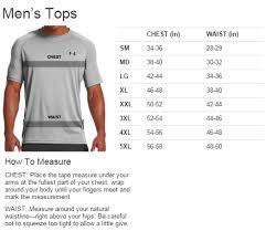 Under Armour Arm Sleeve Size Chart Product Sizes Washington Canoe Club Store