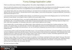 close to home college application humor college  hilarious college application essay