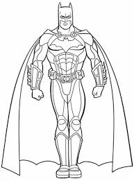 Print & Download - batman and superman coloring pages -