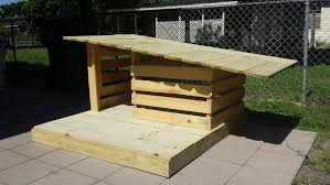 House Made From Pallets Pallet Dog House Building Tips