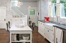 kitchen decoration medium size white french country kitchen with chandelier and dinning table also elegant kitchens