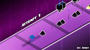 Geometry Dash in Isometric perspective : geometrydash