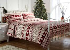 red duvet covers brushed cotton flannelette print set in plaid cover canada