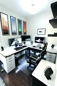 nerdy office decor. Geeky Home Decor Geek Office Desk Beautiful L White In The Room With  Paintings And Gold . Nerdy A