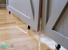 diy sliding barn doors casters 1024x746