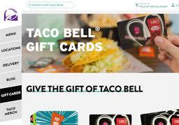 taco bell gift card balance check