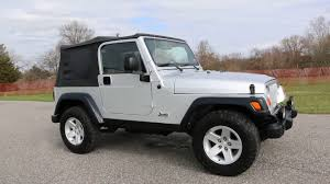2004 Jeep Wrangler Rubicon For Sale~Soft Top~5 Speed~6 CD~Super ...