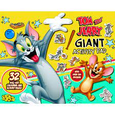 Tom and Jerry: Giant Activity Pad