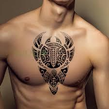 водонепроницаемая временная татуировка наклейка лев король тату S флэш тату