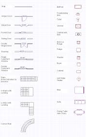 Small Picture Blueprint Symbols Free Glossary Floor Plan Symbols