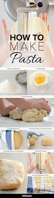 how to make fresh pasta dough in pictures