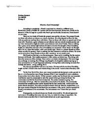 is a real friend essay what is a real friend essay