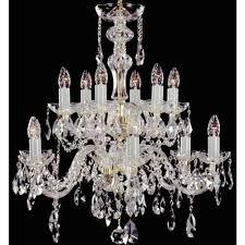 crystal chandelier 12 arms 6 6 gold finish swarovski crystal