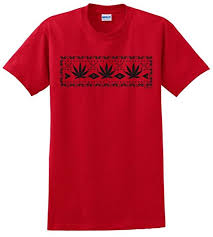 Buy Marijuana, Weed Ugly Christmas Sweater Juniors V-Neck in Cheap ...