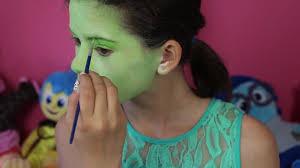 inside out disgust makeup tutorial disney pixar cosplay kittiesmama tune pk