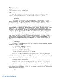 Commercial Loan Agreement Template Awesome Lease Proposal Letter ...