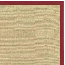 sisal rugs with borders red sisal rug bay sisal rug with red border by rugs red sisal rugs