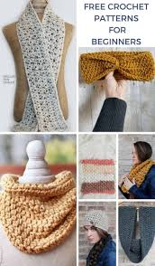 Beginner Crochet Patterns Free