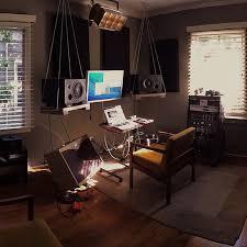 hom office. a bacheloru0027s home office hom e