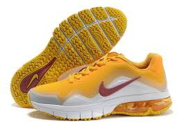 nike running shoes white air max. nike mens orange leather air max running shoes tr 180 white s