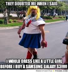 THEY DOUBTED ME WHEN I SAID....... - Cross Dresser Meme Generator ... via Relatably.com
