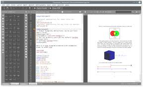 Check Register In Pdf Gorgeous Texmaker Free Crossplatform Latex Editor