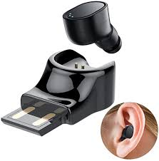 <b>Wireless Earbud Single Ear</b> Bluetooth Headset in-<b>Ear Mini</b> Invisible