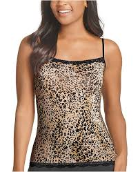 No Panty Line Promise Lace Trim Camisole 1385 Also Available In Extended Sizes