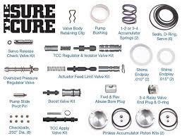 4l60e Troubleshooting Chart Sonnax The Sure Cure Kit Sc 4l60e