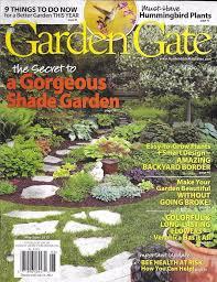 garden gate magazine. Unique Gate Garden Gate Magazine Shade Secrets Backyard Border Hummingbird Plants Budget Inside Magazine E