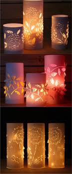Outdoor Lighting Japanese Lanterns Magical Diy Paper Night Light Mason Jar Solar Lights