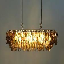 rectangular capiz chandelier large rectangle hanging chandelier gray west elm rectangle capiz shell chandelier