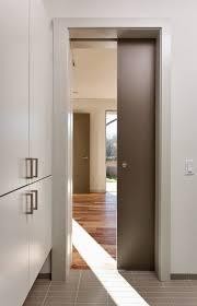 fascinating sliding wooden pocket door design dividing room on modern house using diffe floor design combined
