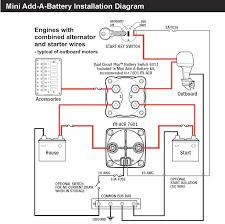 marine dual battery wiring diagram in boat perko switch on single