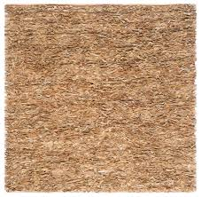safavieh greely leather rug light gold contemporary area rugs by safavieh