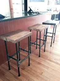homemade bar stools bar stools made from reclaimed wood photo 5 of 5 stools i made