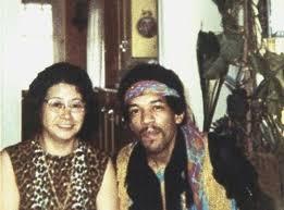 With Stepmother June Hendrix: Seattle, Washington 1969 | Jimi ...