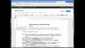 Hanging Indent In Mla Works Cited Blog