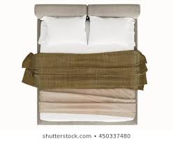 Bed top view Vector Contemporary Bed Isolated On White Background Top View Shutterstock Royalty Free Bed Top View Stock Images Photos Vectors Shutterstock