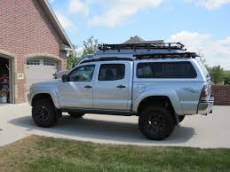 toyota tacoma : Roof Rack For A Shell Amazing Toyota Tacoma Roof ...