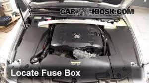interior fuse box location cadillac sts cadillac blown fuse check 2005 2011 cadillac sts